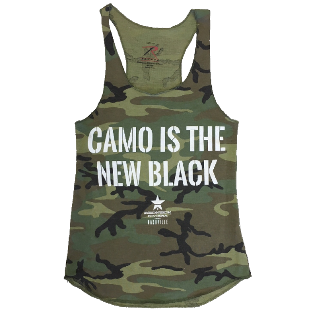 Redneck Riveria Ladies Camo Tank