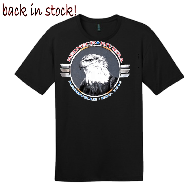 Redneck Riveria Black Tee- If You Kneel...