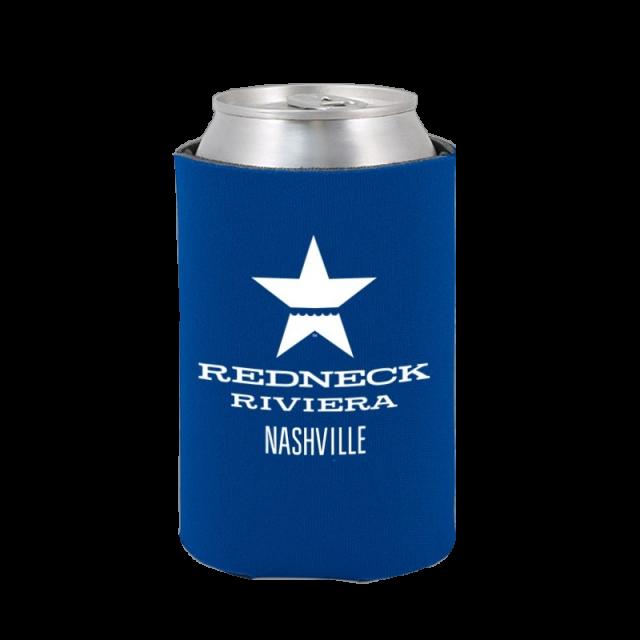 Redneck Riviera Blue Can Coolie