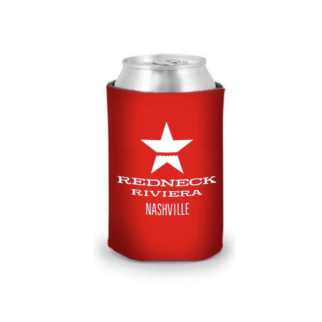 Redneck Riviera Red Can Coolie