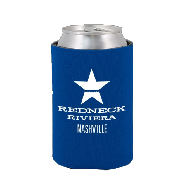 Redneck Riviera Blue Can Coolie